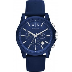 Acheter Montre Armani Exchange Homme Outerbanks Chronographe AX1327