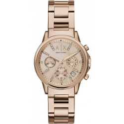 Acheter Montre Armani Exchange Femme Lady Banks Chronographe AX4326