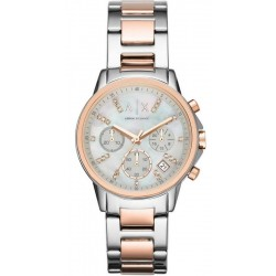 Acheter Montre Armani Exchange Femme Lady Banks Chronographe AX4331