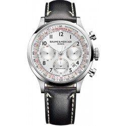 Acheter Montre Baume & Mercier Homme Capeland 10005 Chronographe Automatique