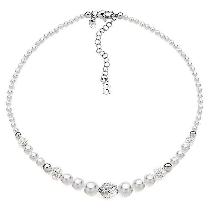 587bd07f33c2 Collier Boccadamo Femme GR504 Perle Swarovski - Bijoux de Mode