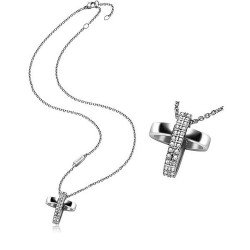 Acheter Collier Breil Femme Charming Cross TJ1460