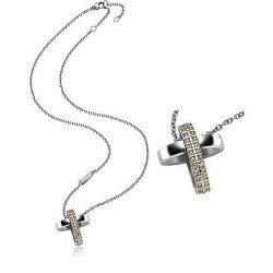 Acheter Collier Breil Femme Charming Cross TJ1461