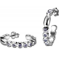 Acheter Boucles d'Oreilles Breil Femme Rolling Diamonds TJ1572