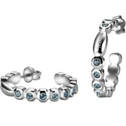Boucles d'Oreilles Breil Femme Rolling Diamonds TJ1573