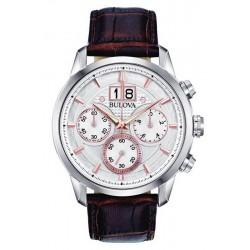 Acheter Montre Bulova Homme Sutton Classic Chronographe Quartz 96B309