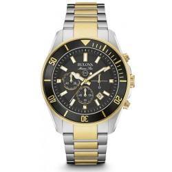 Acheter Montre Bulova Homme Marine Star 98B249 Chronographe Quartz