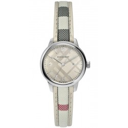 Montre Femme Burberry The Classic Round BU10113