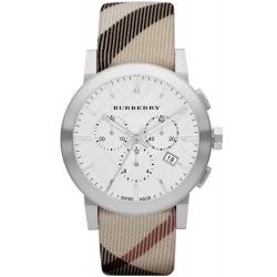 Montre Homme Burberry The City Nova Check BU9357 Chronographe