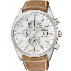 Montre pour Homme Citizen Chrono Eco-Drive Radio Pilotèe AT8017-08A