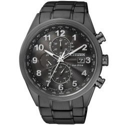 Montre pour Homme Citizen Chrono Eco-Drive Radio Pilotèe AT8018-56E