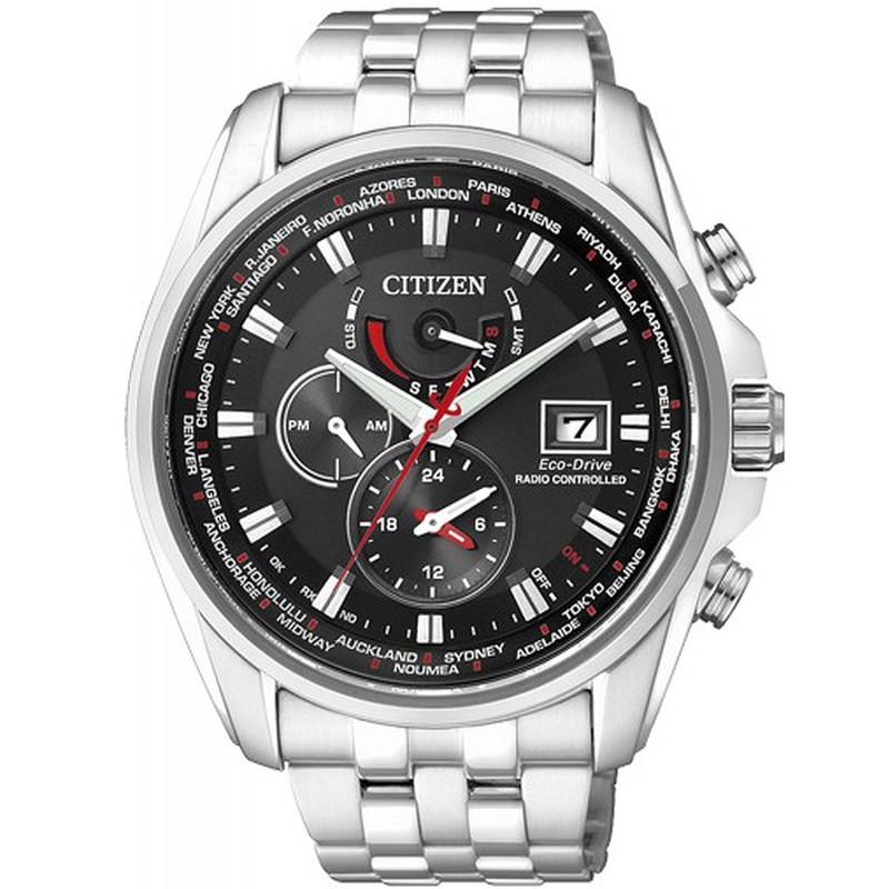 Citizen 55e Drive Pour Eco At9030 Montre Pilotée Homme Chrono Radio c4jq3A5LR