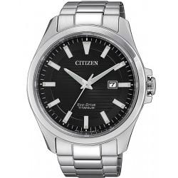 Montre pour Homme Citizen Super Titanium Eco-Drive BM7470-84E