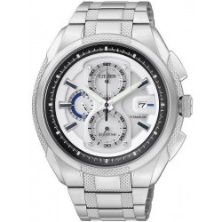 Montre pour Homme Citizen Super Titanium Chrono Eco-Drive CA0200-54B