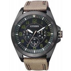 Montre pour Homme Citizen Military Eco-Drive BU2035-05E Multifonction