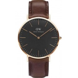 Montre Daniel Wellington Homme Classic Black Bristol 40MM DW00100125