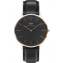 Montre Daniel Wellington Homme Classic Black Sheffield 40MM DW00100127