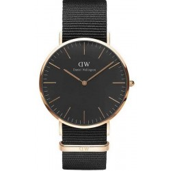 Montre Daniel Wellington Homme Classic Black Cornwall 40MM DW00100148