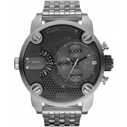 Montre pour Homme Diesel Little Daddy Chronographe Dual Time DZ7259