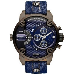 Montre pour Homme Diesel Little Daddy DZ7320 Chronographe Dual Time