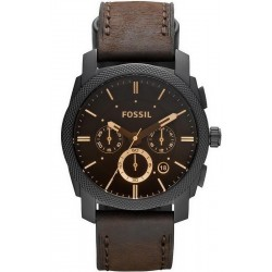 Montre pour Homme Fossil Machine FS4656 Chronographe Quartz