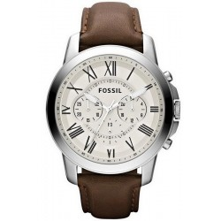 Acheter Montre pour Homme Fossil Grant Chronographe Quartz FS4735