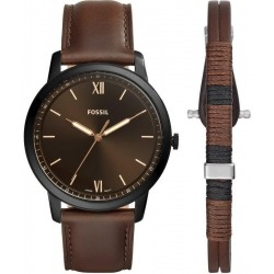 Montre pour Homme Fossil The Minimalist 3H FS5557SET Quartz