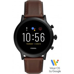 Montre pour Homme Fossil Q The Carlyle HR Smartwatch FTW4026