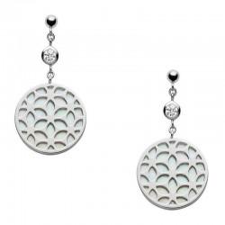 Acheter Boucles d'Oreilles Fossil Femme Sterling Silver JFS00461040