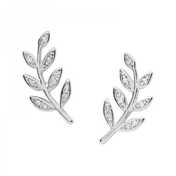 Acheter Boucles d'Oreilles Fossil Femme Sterling Silver JFS00483040