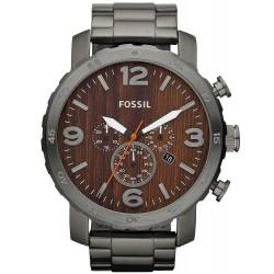 Montre pour Homme Fossil Nate Chronographe Quartz JR1355