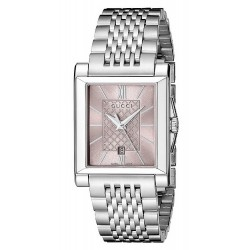 Acheter Montre Gucci Femme G-Timeless Rectangular Small YA138502 Quartz
