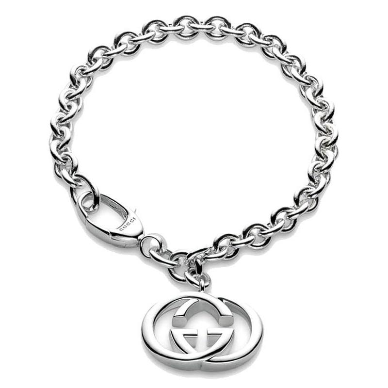 style roman magasiner pour le meilleur meilleur endroit Bracelet Gucci Femme Silver Britt YBA190501001020