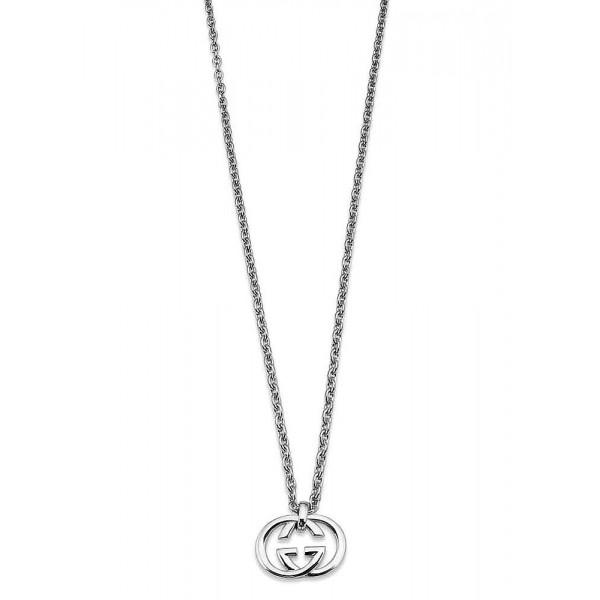 Acheter Collier Gucci Femme Silver Britt YBB19048400100U