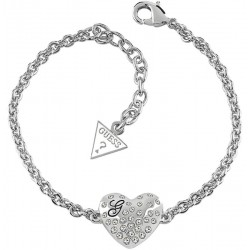 Bracelet Guess Femme Glossy Hearts UBB51492