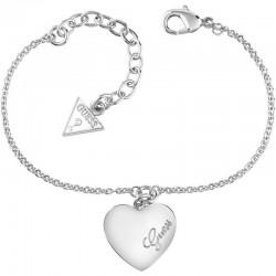 Acheter Bracelet Guess Femme Heartbeat UBB61043-S