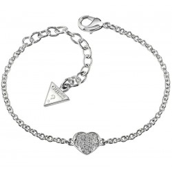 Acheter Bracelet Guess Femme Heartshelter UBB71518-S