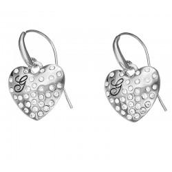 Acheter Boucles d'Oreilles Guess Femme Glossy Hearts UBE51433
