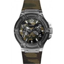 Montre Homme Guess Rigor Multifonction Camouflage W0407G1