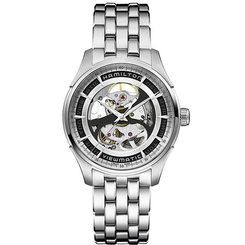 H42555151 Auto Skeleton Montre Gent Homme Viewmatic Hamilton iXuPZk