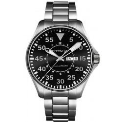Montre Hamilton Homme Khaki Aviation Pilot Day Date Auto H64715135