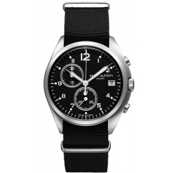 Montre Hamilton Homme Khaki Aviation Pilot Pioneer Chrono Quartz H76552433