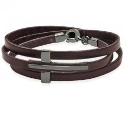 Acheter Bracelet Jack & Co Homme Cross-Over JUB0040