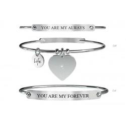 Acheter Bracelet Kidult Femme Love + Bracelet Homme 731054L
