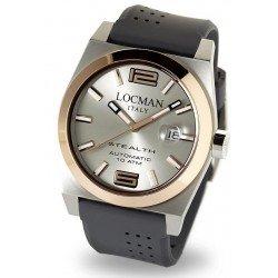 Montre Locman Homme Stealth Automatique 02050RGYF5N0SIA