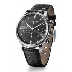Acheter Montre Locman Homme 1960 Chronographe Quartz 0254A01A-00BKNKPK