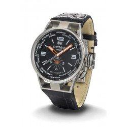 Acheter Montre Locman Homme Montecristo World Dual Time Quartz 0508A01S-00BKWHPK