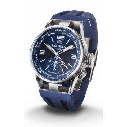 Acheter Montre Locman Homme Montecristo World Dual Time Quartz 0508A02S-00BLWHSB