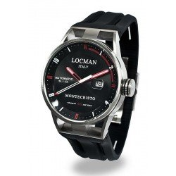 Acheter Montre Locman Homme Montecristo Automatique 051100BKFRD0GOK