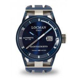 Acheter Montre Locman Homme Montecristo Automatique 0511BLBLFWH0SIB